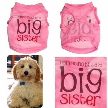 Pet Dog Cat Clothes New Spring Summer Vest Puppy T-Shirt Coat Pet Clothes Apparel Costumes