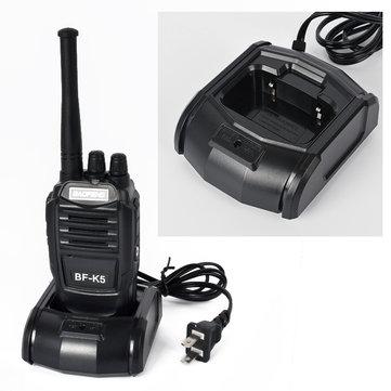 Baofeng K5 Walkie Talkie 5W UHF 16CH Black 1800mAh Li-ion Two Way Amateur Kids Toy Radio