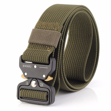 125CM Men Nylon Military Army Sport Pants Belt
