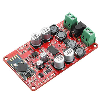TPA3118 DC 8-26V 2 x 30W Dual Channel Bluetooth Power Amplifier Board Stereo Bluetooth CSR4.0 Receiver Digital Amplifier Board