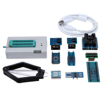 Mini Pro TL866CS USB BIOS Universal Programmer Kit With 9 Pcs Adapter