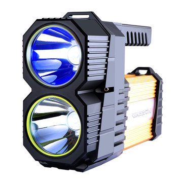 WARSUN D398 Blue Light Fishing Rechargeable Flashlight 40m² High Lumen Powerful LED Torch