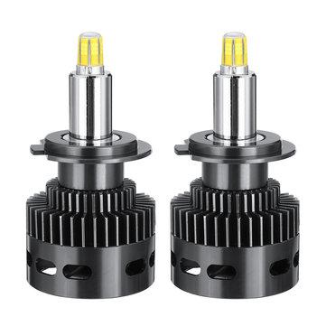 X8 CSP 6 Sides LED Car Headlights Bulbs H1 H7 9005/9006 9012 D Series 100W 14400LM 3D 360 Degree Fog Lamp 6500K
