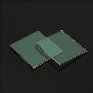 2Pcs Indium Tin Oxide Transparent Conductive Glass Slide 20x20x1.1mm