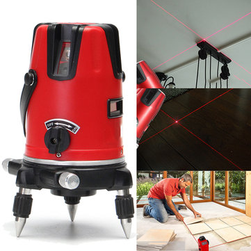 3 Line 4 Point Laser Level Professional Automatic Self Leveling Measurement Level with Tripod