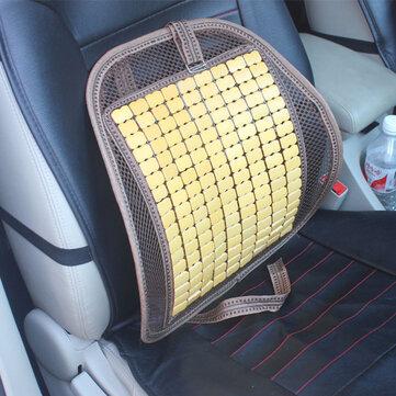 Summer Bamboo Car Seat Chair Back CushionVentilate Cushion Pad