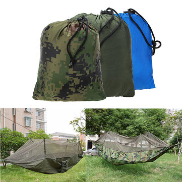 Outdoor Jungle Camping Mosquito Net Hammock