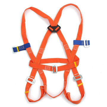 Outdoor Full Body Climbing Safety Belt Rescue Rappelling Aloft Work Suspension Strap Harness