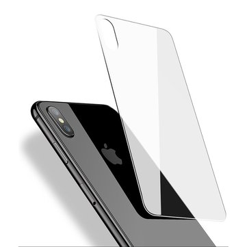 Cafele Clear Anti Fingerprint Scratch Resistant Back Glass Protector For iPhone X