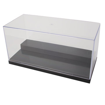 20x9x10cm Clear Acrylic Display Box Case Dustproof Tray Protection For Toy Model