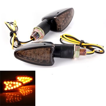 14 LED Motorcycle Turn Signal Indicators Light Lamp E11