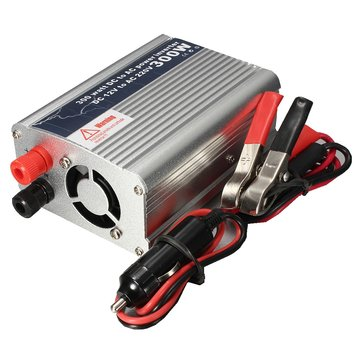 300W USB DC 12V to AC 220V Power Inverter Converter Charger