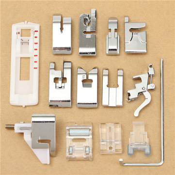 14Pcs Snap Presser Foot Set for VIKING HUSQVARNA Sewing Machines 335 330 325