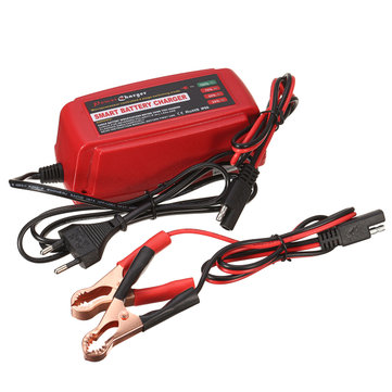 12V 5A Smart Battery Charger Maintainer Desulfator For Lead Acid Batteries