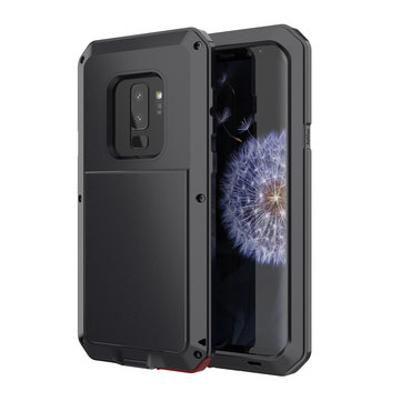 Aluminum Shockproof Dropproof Protective Case For Samsung Galaxy S9 Plus