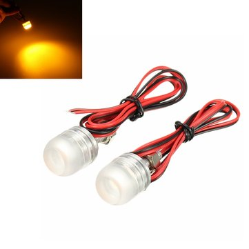 Motorcycle License Plate Tail Lights LED Screw Lamp Brake Lights