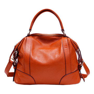 Women Genuine Leather Vintage Handbag Crossbody Shoulder Bag