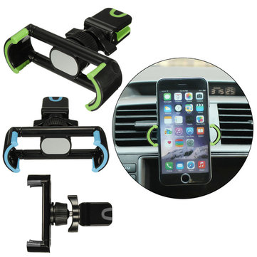 360° Rotating Car Air Vent Holder Stand Mount Adjustable Clip For iPhone 6S 50-80mm Cell Phone