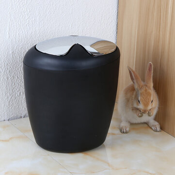 Creative Trash Bin Recycle Garbage Can Tools Supplies Durable Bathroom Mesh Wastebasket