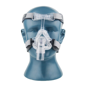 S/M/L Nasal Mask NM2 For CPAP Masks Interface Sleep Snore Strap With Headgear