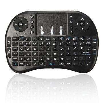 Mini 2.4Ghz 92 Keys Wireless Air Mouse Keyboard Remote Control Touchpad for PC HTPC Andriod TV
