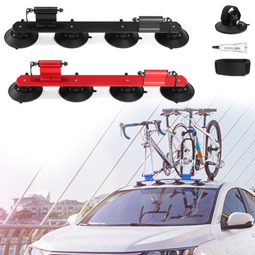 RockBros Bike Bicycle Carrier Suction Rooftop Rack Quick Installation Roof Rack 2 Bikes Version