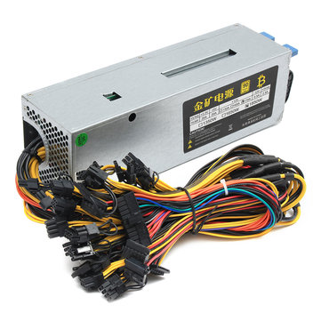 1800W Power Supply Alimentation Miner Efficiency 95% Pr S7 S9 Mining Machine