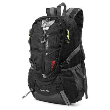 Xmund XD-DY6 40L กันน้ำ Nylon กระเป๋าเป้สะพายหลังกีฬาท่องเที่ยวเดินป่าปีนเขา Unisex R Ucksack