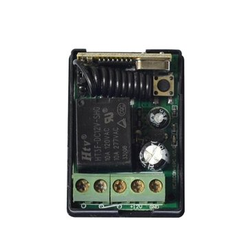 433MHZ 12V DC Single Channel Wireless Remote Control Switch Receiver Module For Smart Home