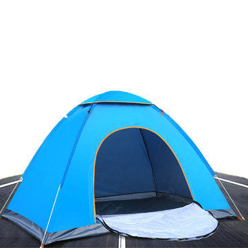 Outdoor Hiking Camping Tent Anti-UV 2 Person Ultralight Folding Tent Pop Up Automatic Open