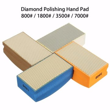 800-7000 Grit Polishing Pad 100*55mm Diamond Hand Polishing Pad