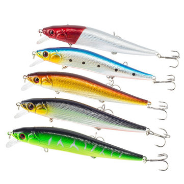 ZANLURE 5pcs/set 140mm 20.5g Minnow Fishing Lure Artificial Hard Baits Carp Fishing Baits