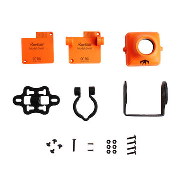 RunCam Swift Protective FPV Camera Case Orange Black for RC Drone FPV Racing