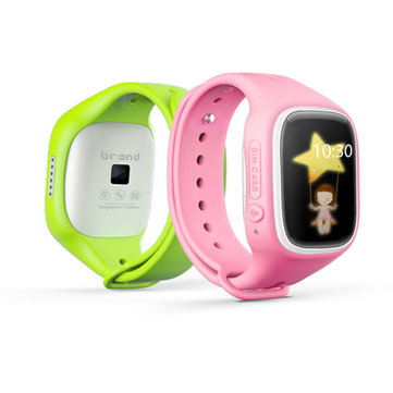 A6 GSM Touch Screen Kid Smart Watch Locator Anti Lost Support Call Track SOS voor iPhone Android
