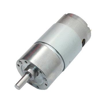 DC 12V 300RPM Geared Motor High Torque 37GB-550 Gear Reducer Motor