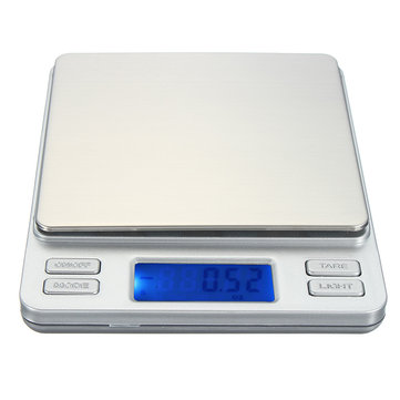 2000g/0.1g LCD Digital Electronic Mini Pocket Lab Kitchen Jewelry Weight Scale