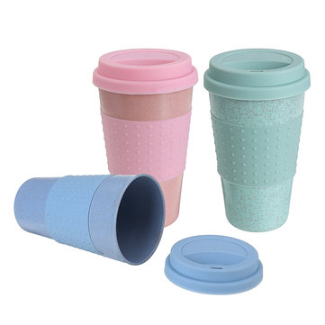 330ml Portable Reusable Cup Silicone Water Bottle Travel Drinking Container Coffee Mugs