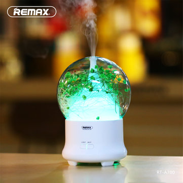 REMAX RT-A700 Ultrasonic Aroma Essential Diffuser Air Humidifier Aromatherapy Home Office