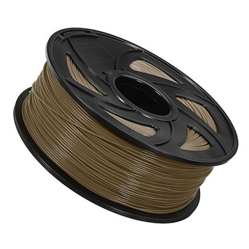 2Pcs Golden 1.75mm 1Kg ABS Filament for 3D Printer