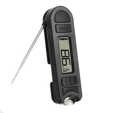 Digital Fold BBQ Thermometer with Bottle Opener Food Kitchen Water Oil Temperature Meter Tools