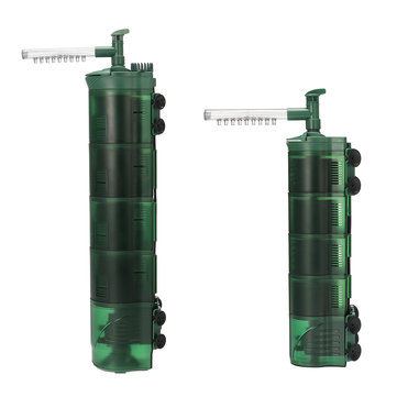 3 in 1 Aquarium Internal Filter Submersible Fish Tank Water Circulation Pump Aquarium Air Pump