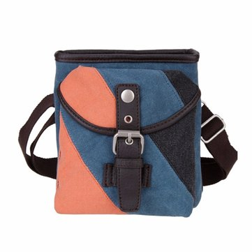 Women Retro Canvas Shoulder Bags Belt Crossbody Bags Vintage Waist Bags Messenger Bags