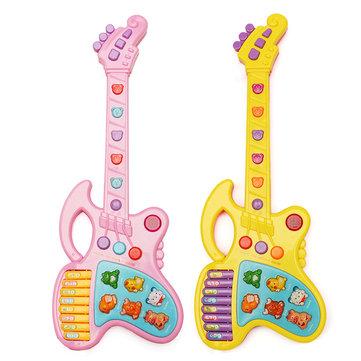Plastik Karikatür Sevimli Hayvan Ses Gitar çocuk çocuk Müzik