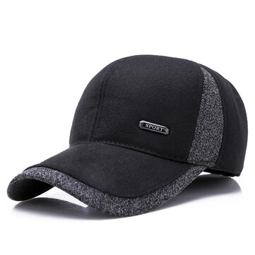 Men Winter Outdoor Sports Baseball Cap Mature Men's Hat