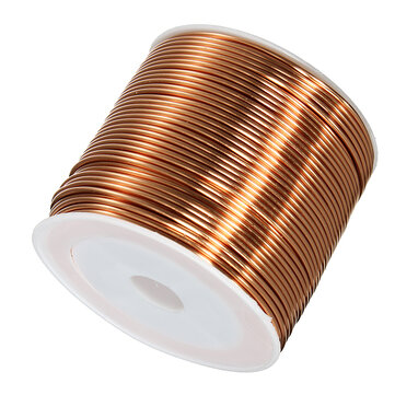 1.0mmx25m Copper Coil Magnet Wire Welding Cable Enameled Wire Roll