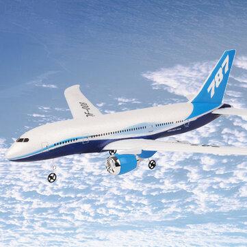 QF008-Boeing 787 550mm Envergure 2.4GHz 3CH PPE RC Avion à voilure fixe RTF Aéromodélisme