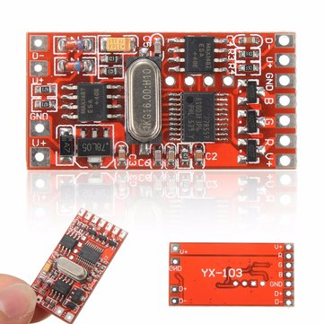 72W 3 Channel DMX512 Encoder Decoder Board Codering Module for RGB LED Stage Light