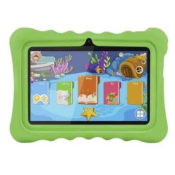 Ainol Q88 RK3126C 1.3GHz 1GB RAM 16GB Android 7.1 OS Kid Tablet-Green