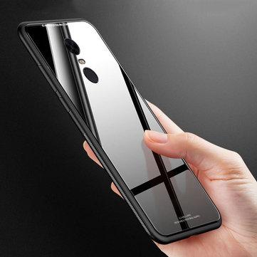 Bakeey™ Soft TPU Frame Tempered Glass Mirror Protective Case for Xiaomi Redmi 5 /Xiaomi Redmi 5 Plus