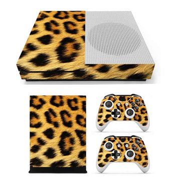 3D Leopard Host Body Paste Two Handle Paste Sticker Skin for Xbox one